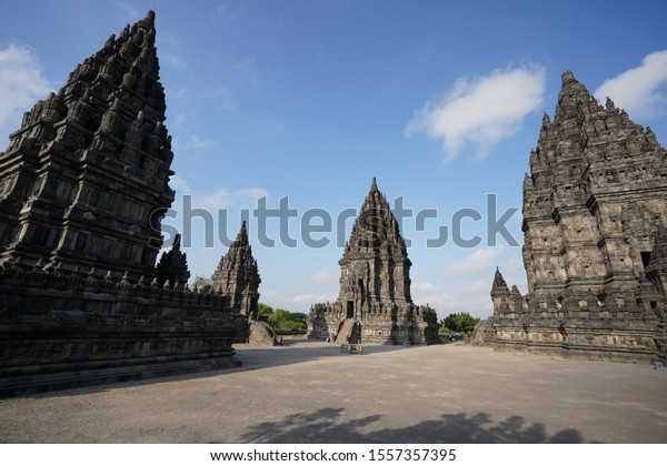 Prambanan is a large Hindu temple. This temple located in Klaten, Indonesia