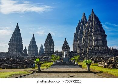 Prambanan Temple a 9th-century Hindu temple compound in Central Java, Indonesia