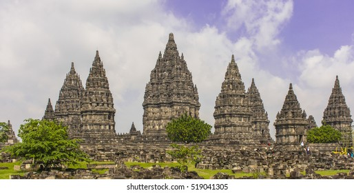 Prambanan Temple Complex, Yogyakarta, Java, Indonesia