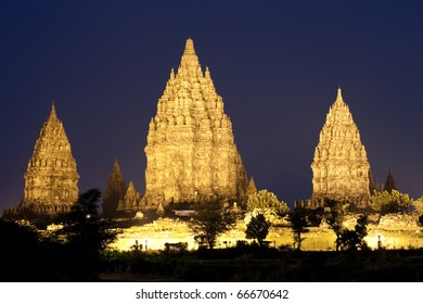 Prambanan Temple located in Jogjakarta, Indonesia.