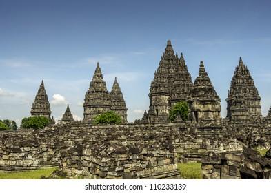 Prambanan temple on Java (Indonesia)