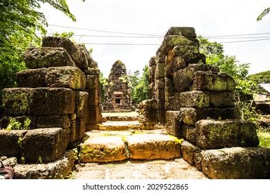 Prang Ku Ban Khwao, archaeological site, Roi Et Province, Thailand.