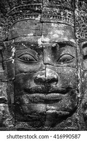 Prasat Bayon Khmer temple, Angkor Thom, Siem reap, Cambodia