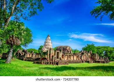Prasat Hin Phanom wan in Nakhon Ratchasima Thailand