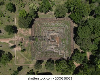 Prasat Koh Ker , Koh Ker Temple in beautiful drone shot - Shutterstock ID 2000858033