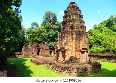 Prasat Ta Muen Tot in Surin province Thailand