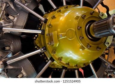 Pratt & Whitney R-1830-90C Twin Wasp Aircraft Engine. Fourteen Cylinder Engine for DC3 aircraft.
