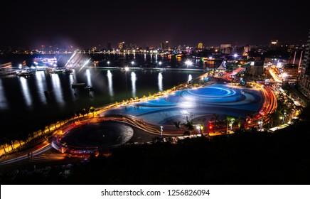 Pratumnak view point Pattaya City at night