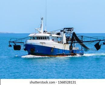 Prawn Trawler in the Gulf of Carpentaria, Australia