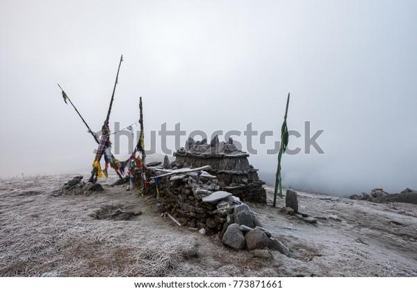 Pray Flags Nepal, Asia