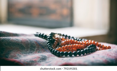 Prayer Beads Inside The Mosque