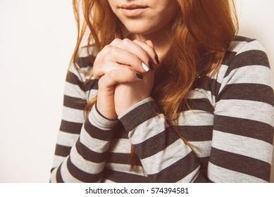 Prayer. Female.