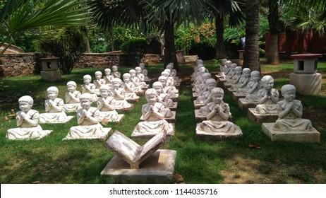 Garden of the Five Senses Images, Stock Photos & Vectors