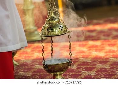 Prayers rising as smoke