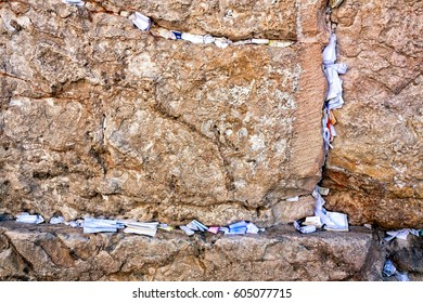 Prayers & Wishes at the Western Wall (Wailing Wall) in Jerusalem