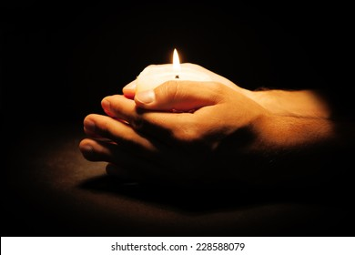 Prayer Candle Images, Stock Photos & Vectors | Shutterstock