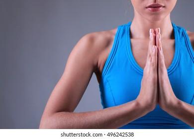 Praying posture