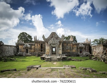 Preah Vihear ancient Khmer temple ruins famous landmark in Cambodia