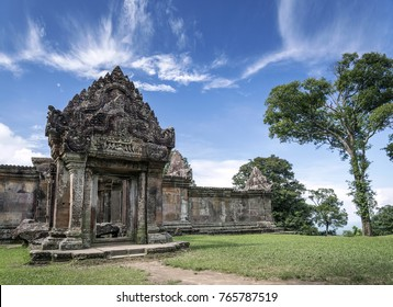 preah vihear famous ancient temple ruins landmark in north cambodia
