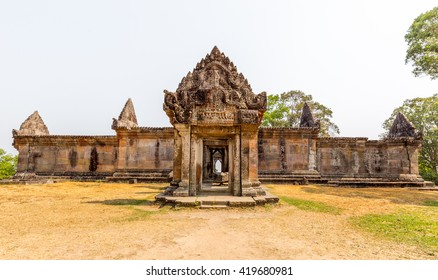 preah vihear temple main gate