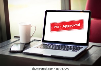 Pre-Approved Choice Mark Selection CUSTOMIZE Status Option and CUSTOMS