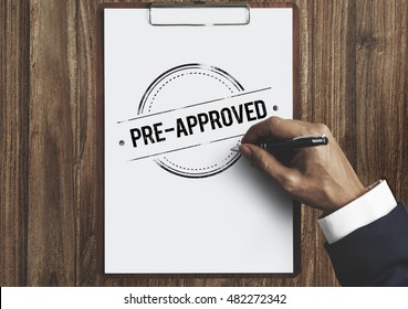 Pre-Approved Choice Mark Selection Status Option Concept
