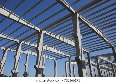 Precast Concrete construction Site