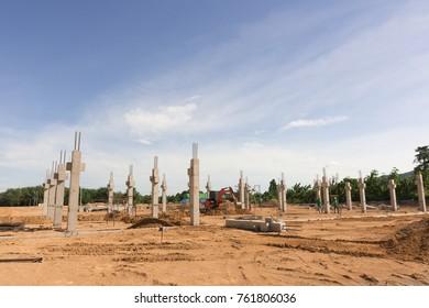 Pre-cast Pillar Installations