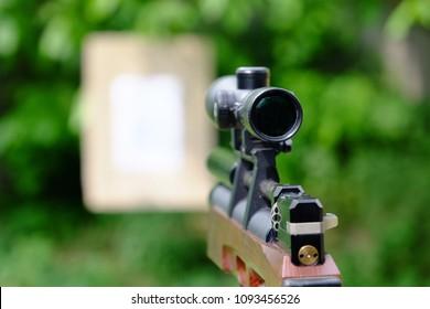 Pre-Charged Pneumatic Air Rifles. PCP pneumatic gun