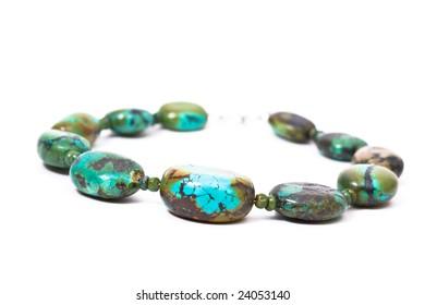 Precious Stone Turquoise Necklace