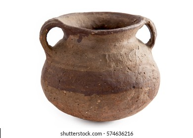 Pre-Columbian ceramic vessel from Colombian ancient indigenous