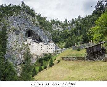 Predjama Castle, Postojna, Slovenia.