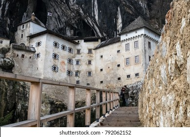 Predjama Castle, situated in the middle of a cliff near Postojna Cave, is the largest cave castle in the world. Under the fortress there is picturesque Cave full of bats.