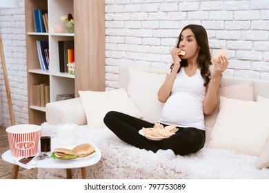 Enjoyable Hungry Pregnant Images Stock Photos Vectors Shutterstock Uwap Interior Chair Design Uwaporg