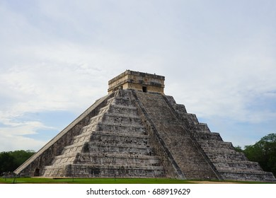 Pre-Hispanic City of Chichen-Itza - UNESCO World Heritage Site in Mexico
