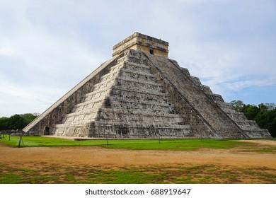 Pre-Hispanic City of Chichen-Itza - UNESCO World Heritage Site in Mexico