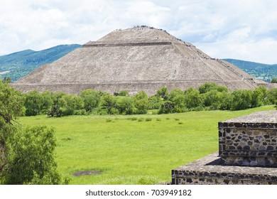 Pre-Hispanic City of Teotihuacan  - UNESCO Site in Mexico City
