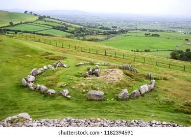 Prehistoric Loughcrew Tomb complex of County Meath, Ireland