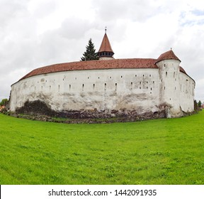 Prejmer (DE: Tartlau) fortified church, Brașov County, in Transylvania region, Romania. Founded by the Germanic Teutonic Knights, and eventually taken over by the Transylvanian Saxon community