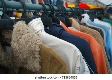 Gebrauchte Kleidung für den Verkauf