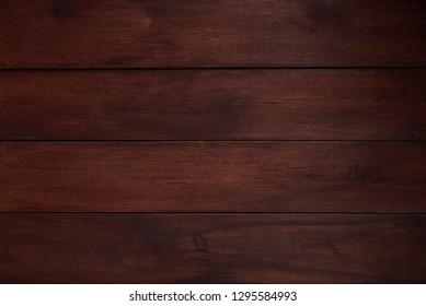 Premium dark wooden texture background. Wooden planks surface