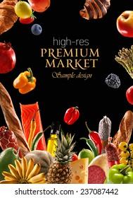 Premium food and ingredients