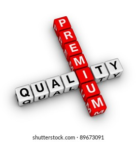 premium quality label for on-line store