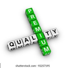 premium quality label for online store
