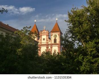 Premonstratensian Monastery ,  Louka near Znojmo Czech Republic