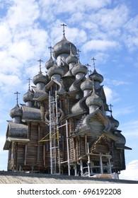 Preobrazhenskaya church of Kizhi Island