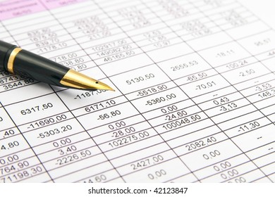 preparation of a balance sheet