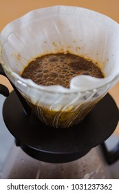 preparation of coffee through a filter alternative