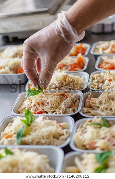 Preparation Dietary Dishes Kitchen Delivery Dietary Stock ...
