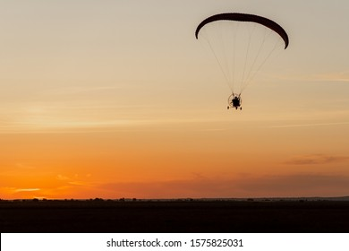 Preparation for flights on paramotors. Flying on paramotor